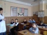 Лекции с учениками школ