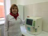 Лаборатория Детской поликлинике №17 получила новое оборудование